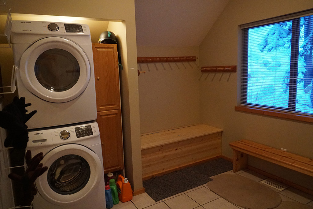 Boot and Laundry Room Area